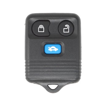 Ford 3 buttons Remote Key Cover Blue Trunk Button Type