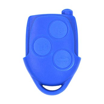 Ford Transit MK7 3 Buttons Remote Key Cover Blue