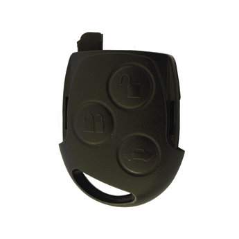 Ford Focus 3 Buttons Remote Key Cover Black