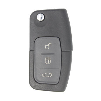 Ford Focus 3 Buttons Flip Remote Key Cover With Head Nail blade...