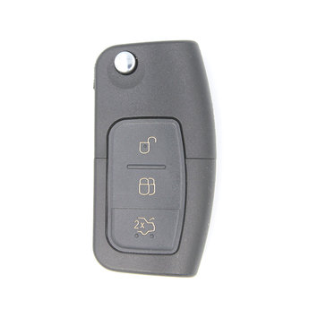 Ford Focus 3 buttons Flip Remote Key Cover With Head