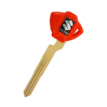 Suzuki Motorbike Chip Key Cover Red Color