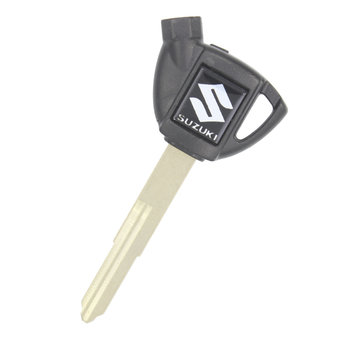 Suzuki Motorbike Chip Key Cover Black Type 2