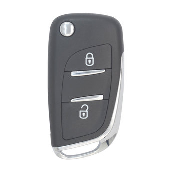 Citroen 2 buttons Flip Remote Key Cover DS Modified without Battery...