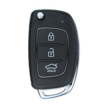 Hyundai Accent 2014 3 Buttons 433MHz Genuine Flip Remote Key...