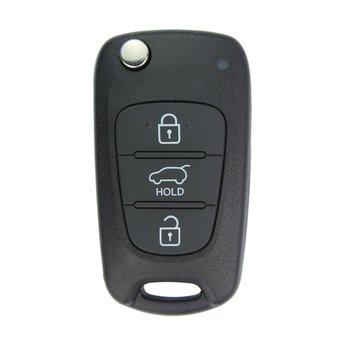 Hyundai Veloster 2013 3 Buttons Genuine Flip Remote Key 9543...