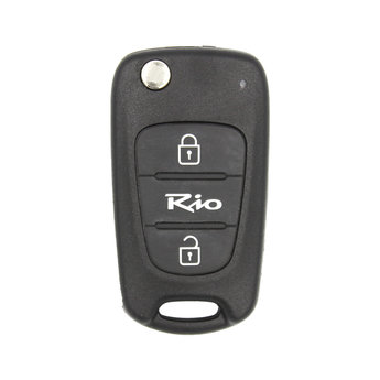 KIA Rio 2 Buttons Genuine Flip Remote Key Without Transponder...