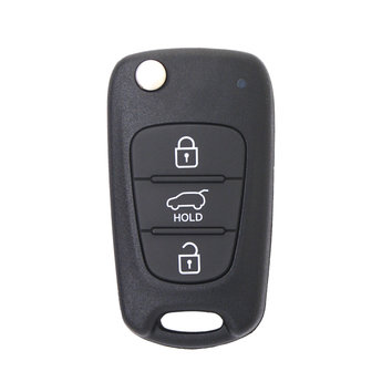 KIA Soul 2012 3 buttons 433MHz Genuine Flip Remote Key Without...