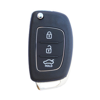 Hyundai I10 2017 3 buttons 433MHz Genuine Flip Remote Key 9543...