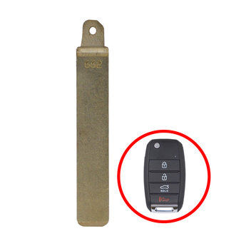KIA Genuine Blade For Flip Remote Key 81996-G6100 New