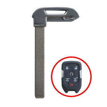 Chevrolet GMC 2017 Blade For Smart Key Remote Type3