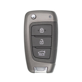Hyundai Accent 2018 3 Buttons 433MHz Genuine Flip Remote Key...