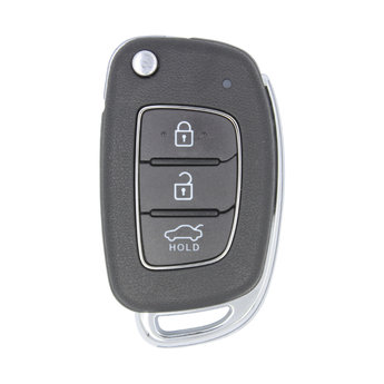 Hyundai i10 2018 3 buttons 433MHz Genuine Flip Remote Key 9543...