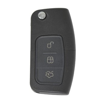 Ford Focus Flip Remote 3 Buttons 433MHz HU101 Blade
