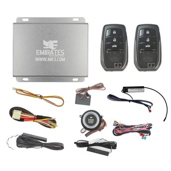 Engine Start System 3 Buttons Toyota Hilux EG-001