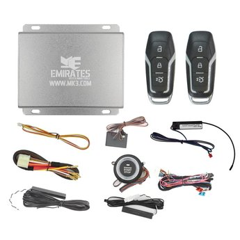 Engine Start System 3 Buttons Ford Smart Key EG-009