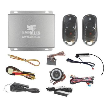 Engine Start System 3 Buttons Chevrolet Model Smart Remote Key...
