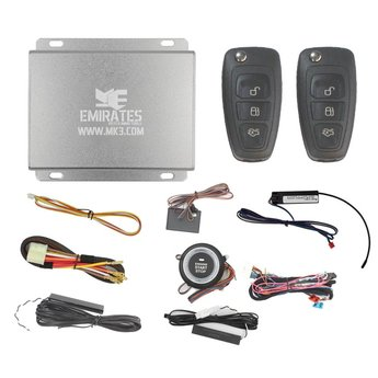Engine Start System 3 Buttons Ford Flip Remote Key EG-010