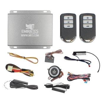 Engine Start System 3 Buttons Honda Smart Key EG-011