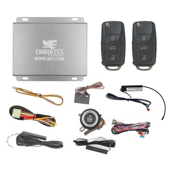 Engine Start System 3 Buttons VW Flip Remote Key EG-015