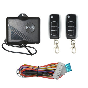 Keyless Entry Bently Chrome 3 Buttons Remote FK125 Model