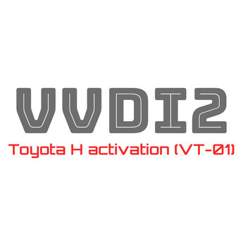 Xhorse VVDI2 (VT-01) Toyota H Activation