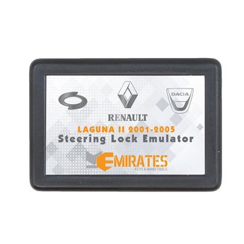Renault Laguna 2 2001-2005 Steering Lock Emulator Plug and Start...
